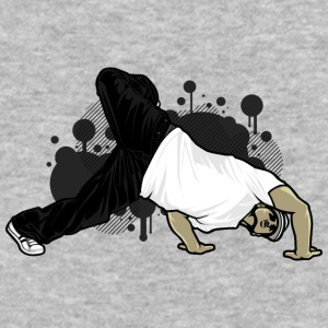 break_dancer - Baseball T-Shirt