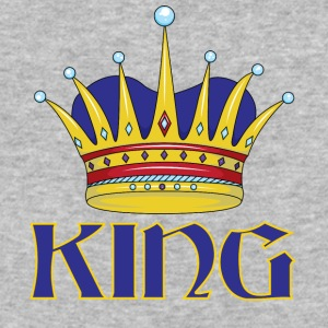 blue gold king - Baseball T-Shirt
