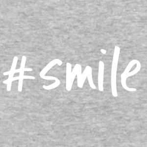#smile - Baseball T-Shirt