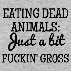 Eating Dead Animals - Baseball T-Shirt