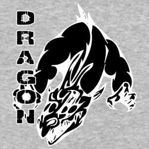 dragon_with_hands_black - Baseball T-Shirt