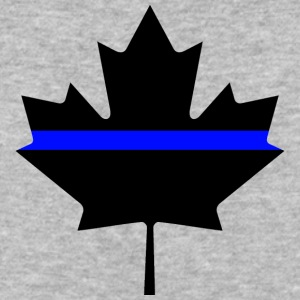 Canada Thin Blue Line - Baseball T-Shirt