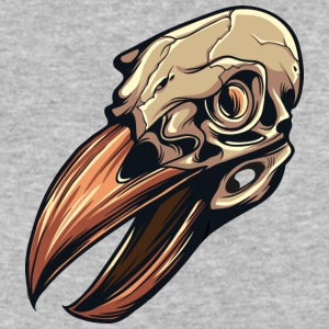 bird_skull_2 - Baseball T-Shirt
