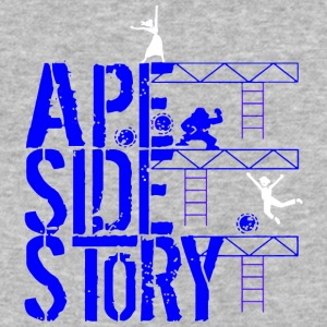 Ape Side Story - Baseball T-Shirt