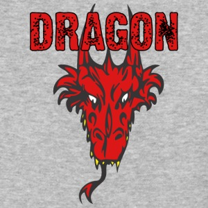 dragon_head_with_horns_color - Baseball T-Shirt