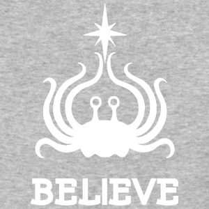 BELIEVE WHITE - Baseball T-Shirt