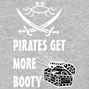 pirates get more booty FSM white - Baseball T-Shirt