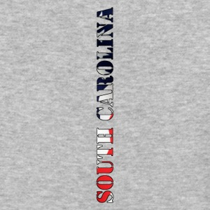 South Carolina Flag Design - Baseball T-Shirt