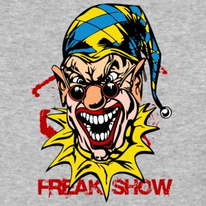 EVIL_CLOWN_47_freak - Baseball T-Shirt