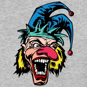 EVIL_CLOWN_48_colored - Baseball T-Shirt