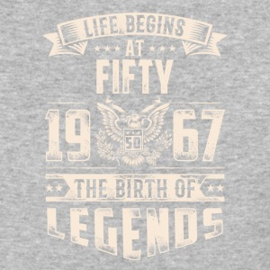 Life Begins at Fifty Legends 1967 for 2017 - Baseball T-Shirt