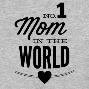 NO_1_mom_in_the_world-01 - Baseball T-Shirt