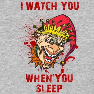 EVIL_CLOWN_7_watching - Baseball T-Shirt