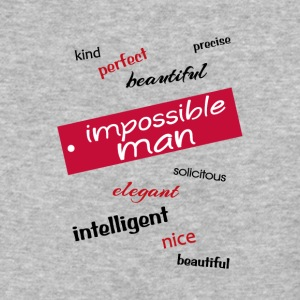 impossible man - Baseball T-Shirt
