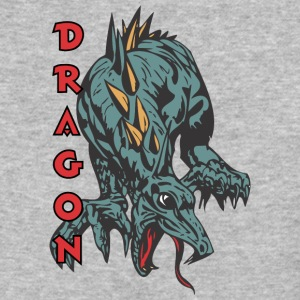 dragon_on_four_legs_color - Baseball T-Shirt