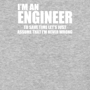 Engineer Funny Engineers are never wrong - Baseball T-Shirt
