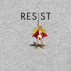 SHE RA says- RESIST - Baseball T-Shirt