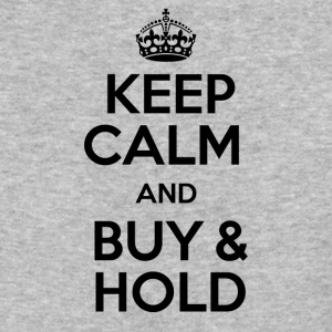 KEEP CALM AND BUY & HOLD - Baseball T-Shirt