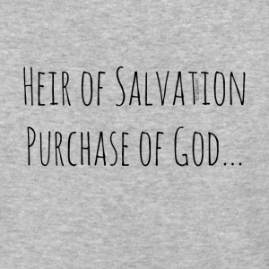 Heir of Salvation Purchase of God - Baseball T-Shirt