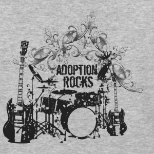 Adoption Rocks - Baseball T-Shirt