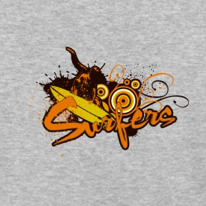 Surfers street art - Baseball T-Shirt