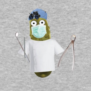 Dentist Pickle - Baseball T-Shirt