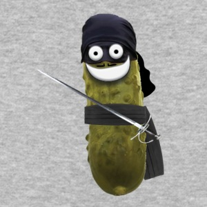 Dread Pirate Pickle - Baseball T-Shirt