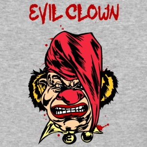 EVIL_CLOWN_35_bloody - Baseball T-Shirt