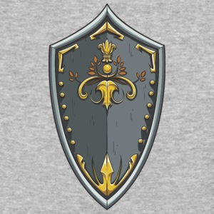 shield_with_ornament - Baseball T-Shirt