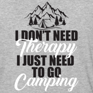 I Just Need To Go Camping T Shirt - Baseball T-Shirt