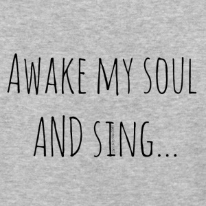 Awake My Soul and Sing - Baseball T-Shirt
