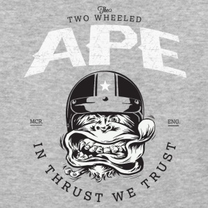 The_Two_Wheeled_Ape_Full_Throttle - Baseball T-Shirt
