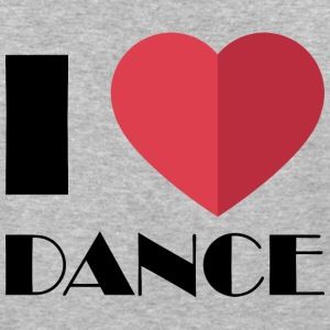 I Love Dance - Baseball T-Shirt