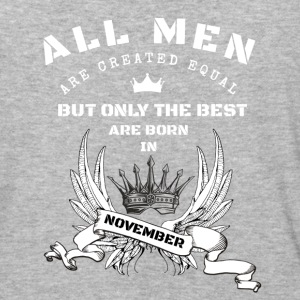 only the best are born in november - Baseball T-Shirt