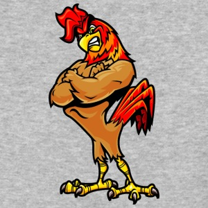 muscular_rooster - Baseball T-Shirt