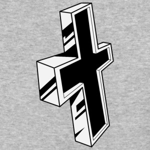 christian_cross_20 - Baseball T-Shirt