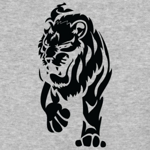 angry_lion_black - Baseball T-Shirt