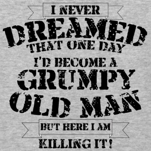 Grumpy Old Man - Baseball T-Shirt