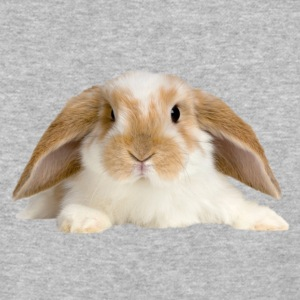 Cute Rabbit - Baseball T-Shirt