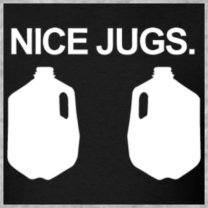 nice_jugs - Baseball T-Shirt