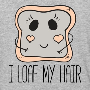 I Loaf My Hair by Curl Centric - Baseball T-Shirt