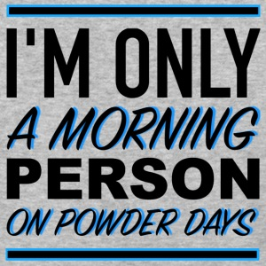 MORNING PERSON - Baseball T-Shirt