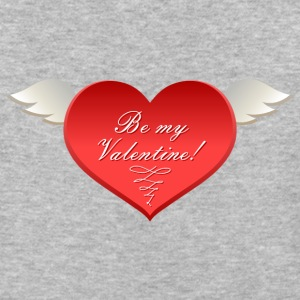 Be-my-Valentine-heartн - Baseball T-Shirt