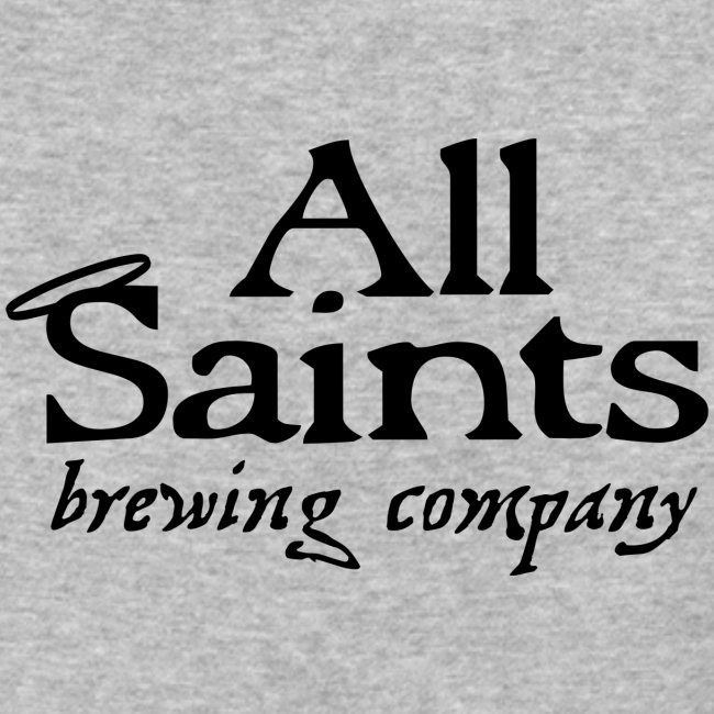 All Saints Logo Black