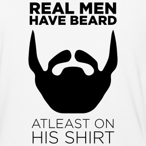 Real Men Have Beard Atleast on Shirt - Baseball T-Shirt