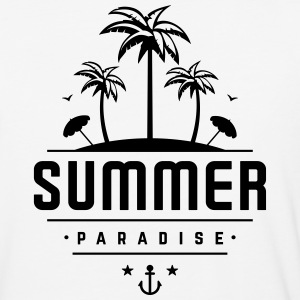 Summer Paradise - Baseball T-Shirt