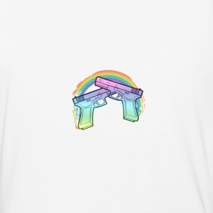 Rainbow guns - Baseball T-Shirt