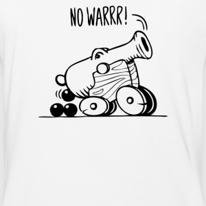 No War - Baseball T-Shirt