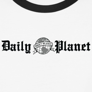 Daily Planet - Baseball T-Shirt