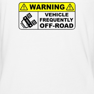 VEHICLE FREQUENTLY OFF ROAD - Baseball T-Shirt